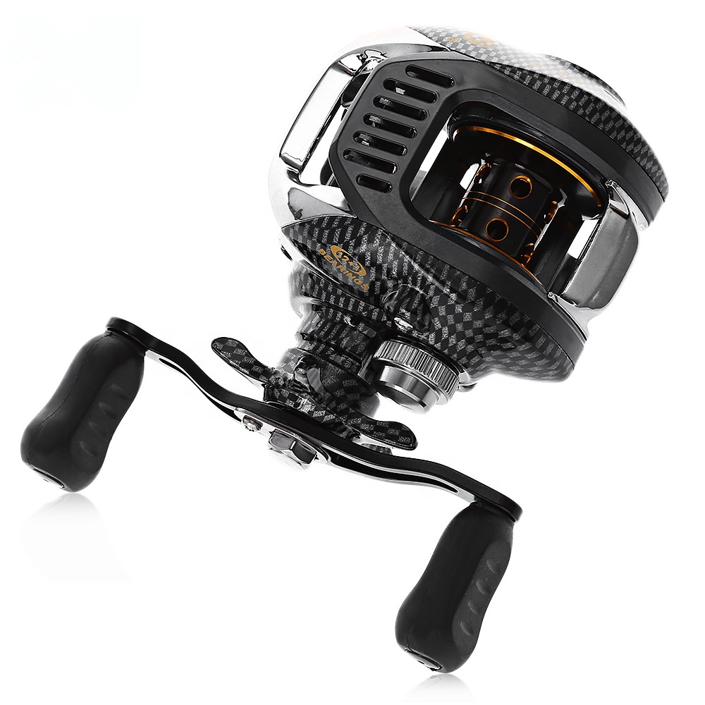 4+1 BB Bearings Left Right Hand Water Drop Wheel Bait Casting Fishing Reel Durable Alloy Wire Cup, Photo color
