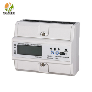 Din Rail Three Phase Power Modbus Energy Meter /Electric Meter