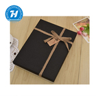 Clothes shirt box birthday holiday gift box black box design for clothes