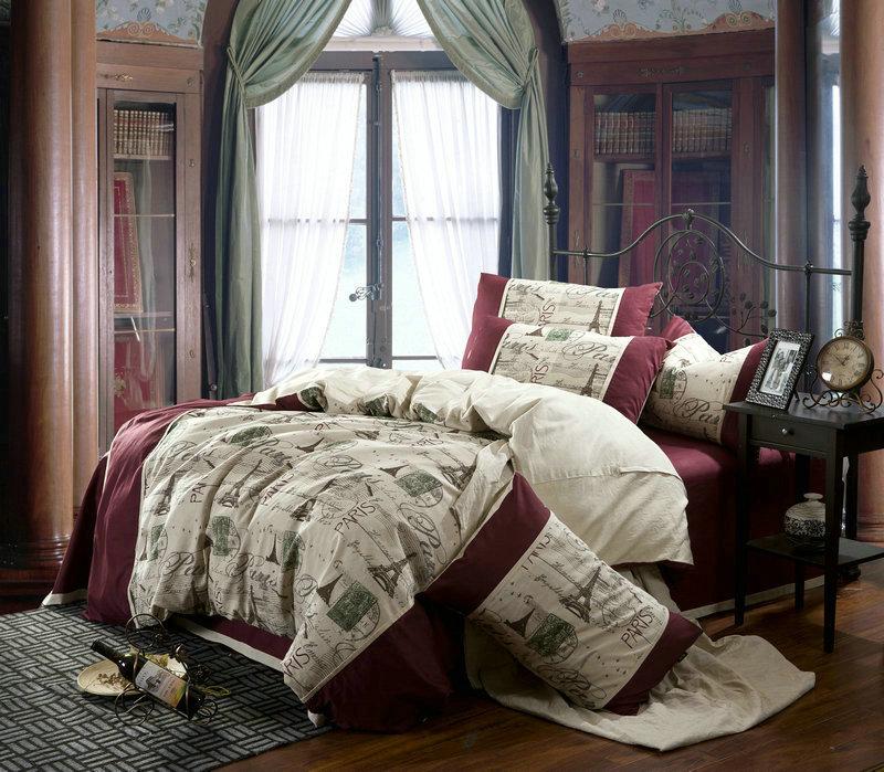 acheter linge vintage paris tour eiffel. Black Bedroom Furniture Sets. Home Design Ideas