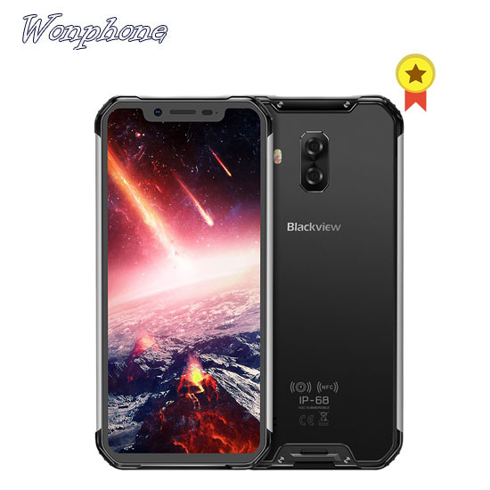 Global brand waterproof smartphone Blackview BV9600 pro Rugged IP68 Waterproof Helio P60 6.21inch 6GB RAM 128GB MT6771 5580mAh""