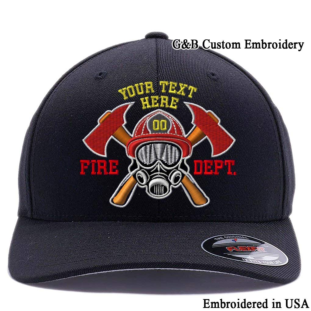 Custom Embroidered Firefighter Hats. 6477 575e7a3e598