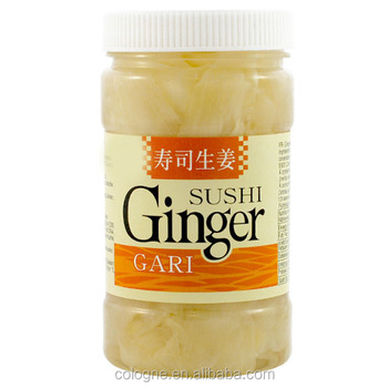 chinese pickled sushi ginger in 1kg carton