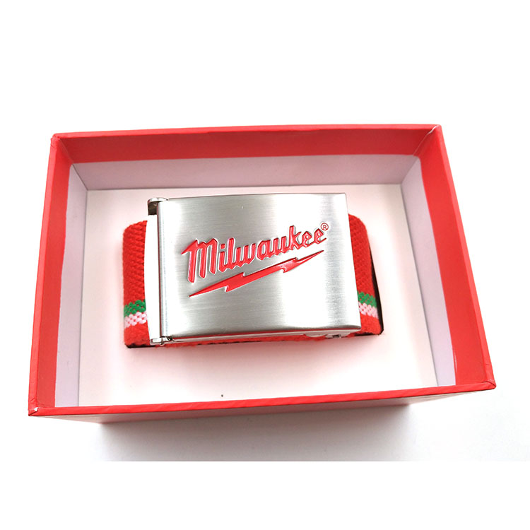 customized logo engraved cam metal belt buckle manufacturer