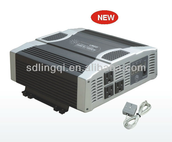 dc dc converters 12v 72v 1500W with charger and remote digital display