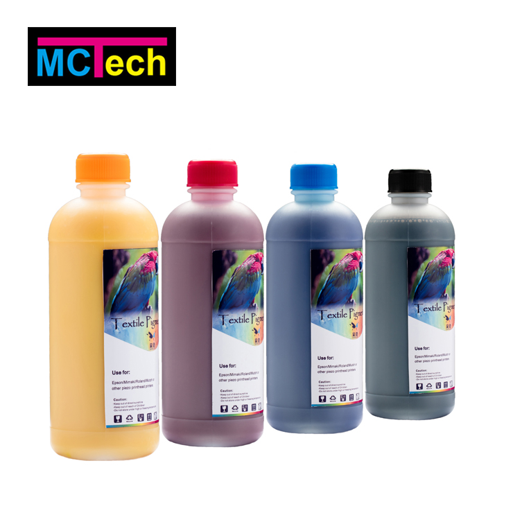 1000ml bottle black liquid ink jet comcolor print eva fabric textile ink compatible for mimaki printer cartridge