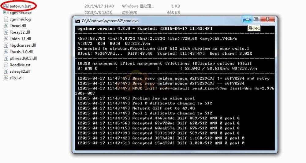 Antminer U3 USB BTC шахтер 63Gh / s Bitcoin шахтера, Usb asic шахтер, Коллекционирование, Sha256