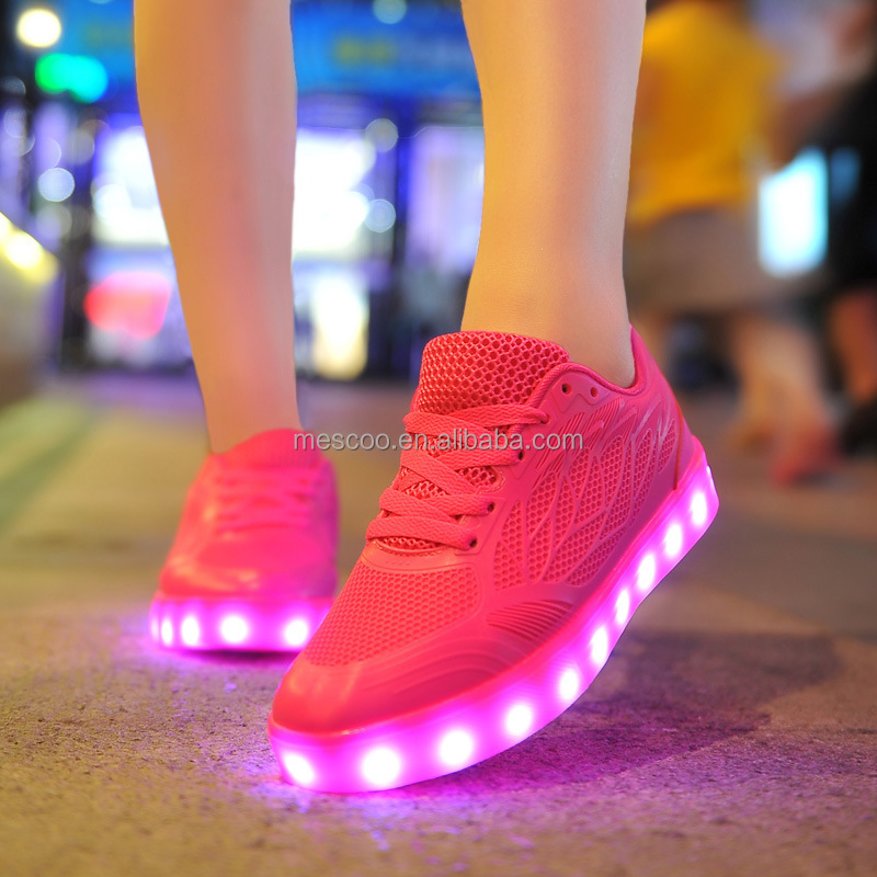 Fashion Luminous LED Shoes For Adults Women Growing Casual Zapatillas Hombre