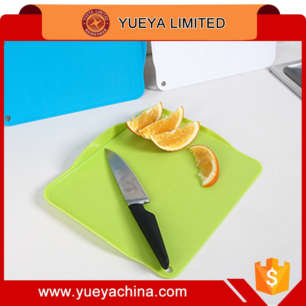 Hard plastic Hygienic Kitchen Slicing Cutting Chopping Boards Mat