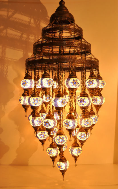 Turkish mosaic chandelier buy mosaic chandelier product on alibaba aloadofball Image collections