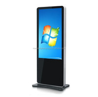 55 Inch Stand Alone interactive advertising screen video player