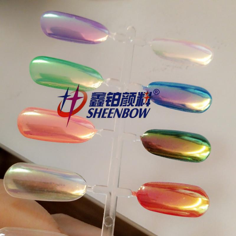 Lumina Aurora Espejo Rainbow Pigmentos En Polvo Efecto Espejo Para ...