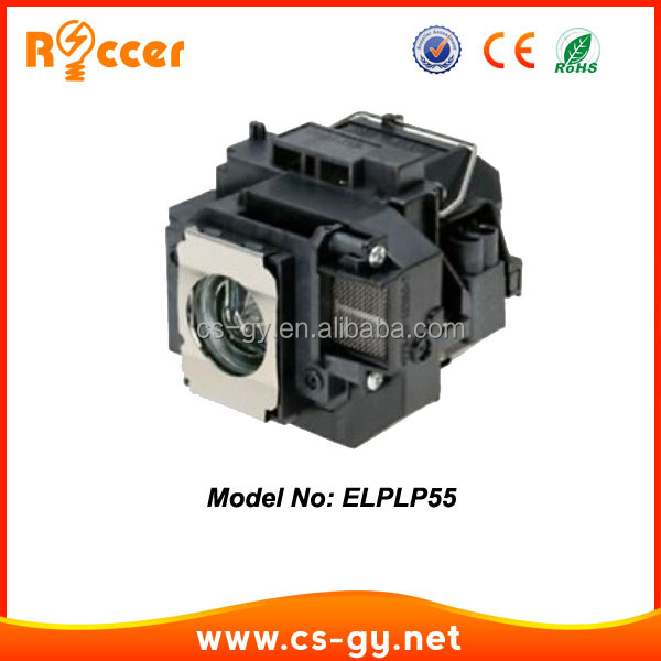 Projection tv lamp code V13H010L55/ELPLP55 projector bulb for projector Epson EB-W8D