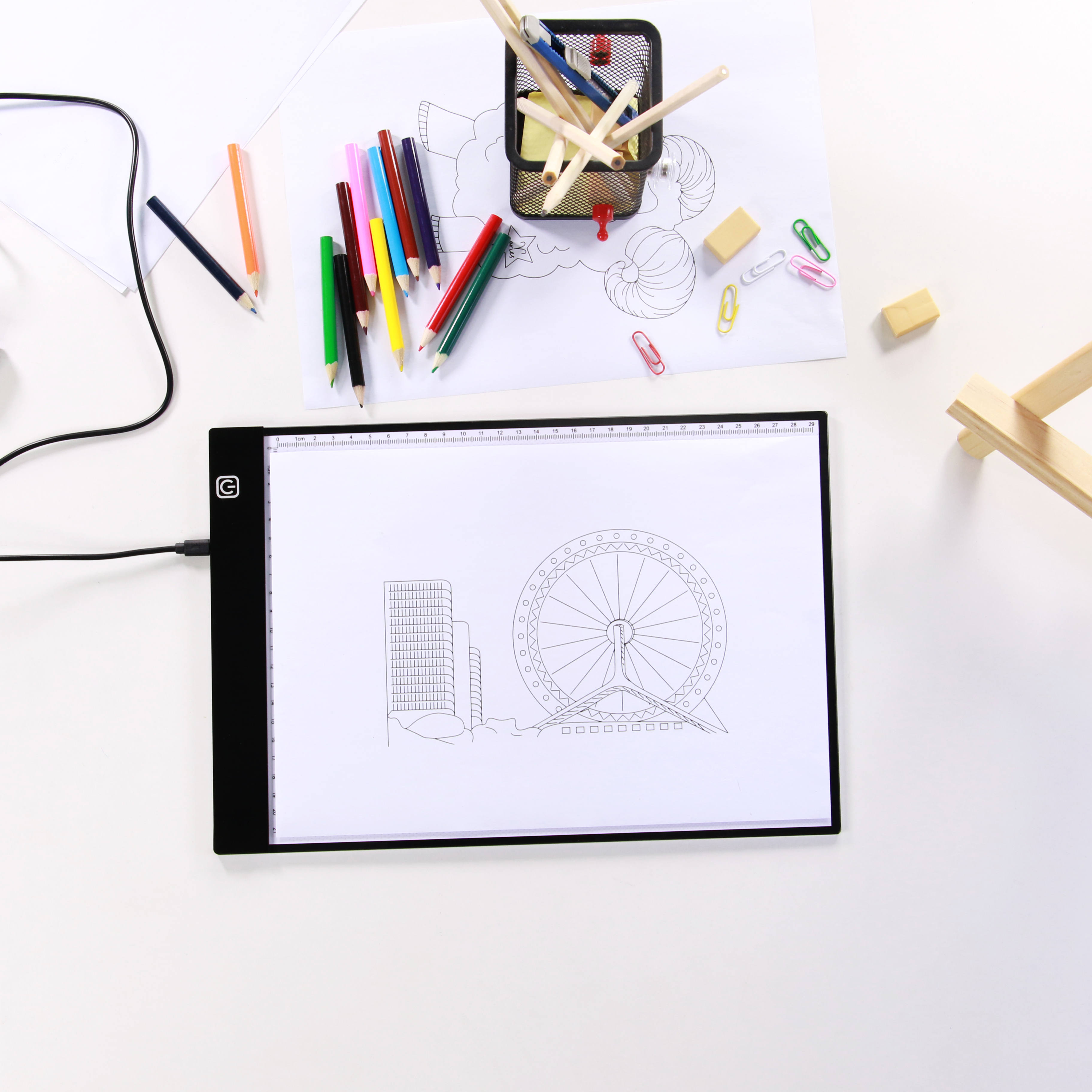Best Gifts For Kids A4 LED Drawing Board Tracing Light Box Tattoo Artist Ultra