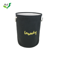 Most popular in China Canvas Storage Bin Storage Laundry Basket Cloth Liner Bag