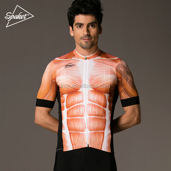 2018 new cycling jersey men short sleeve muscle top shirt sublimation ff728b055