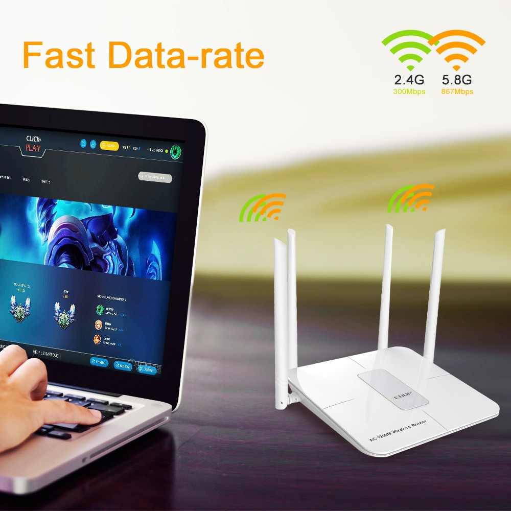 Manufacturer 1200Mbps with wood lte router link router price in nepal EP-RT2635