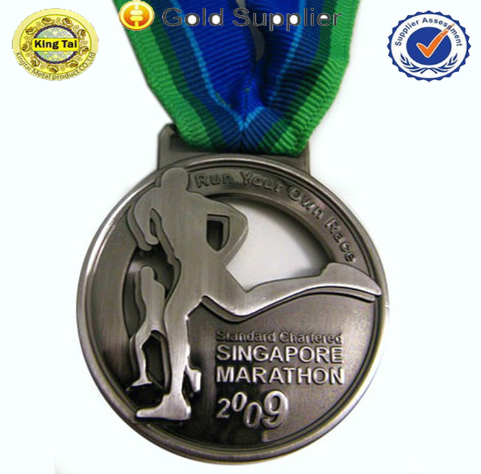 Personalized die casting running competition medal