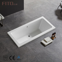 Direct Buy China Acrylic Tub Soaking Bath tub High Quality Drop In Bathtub