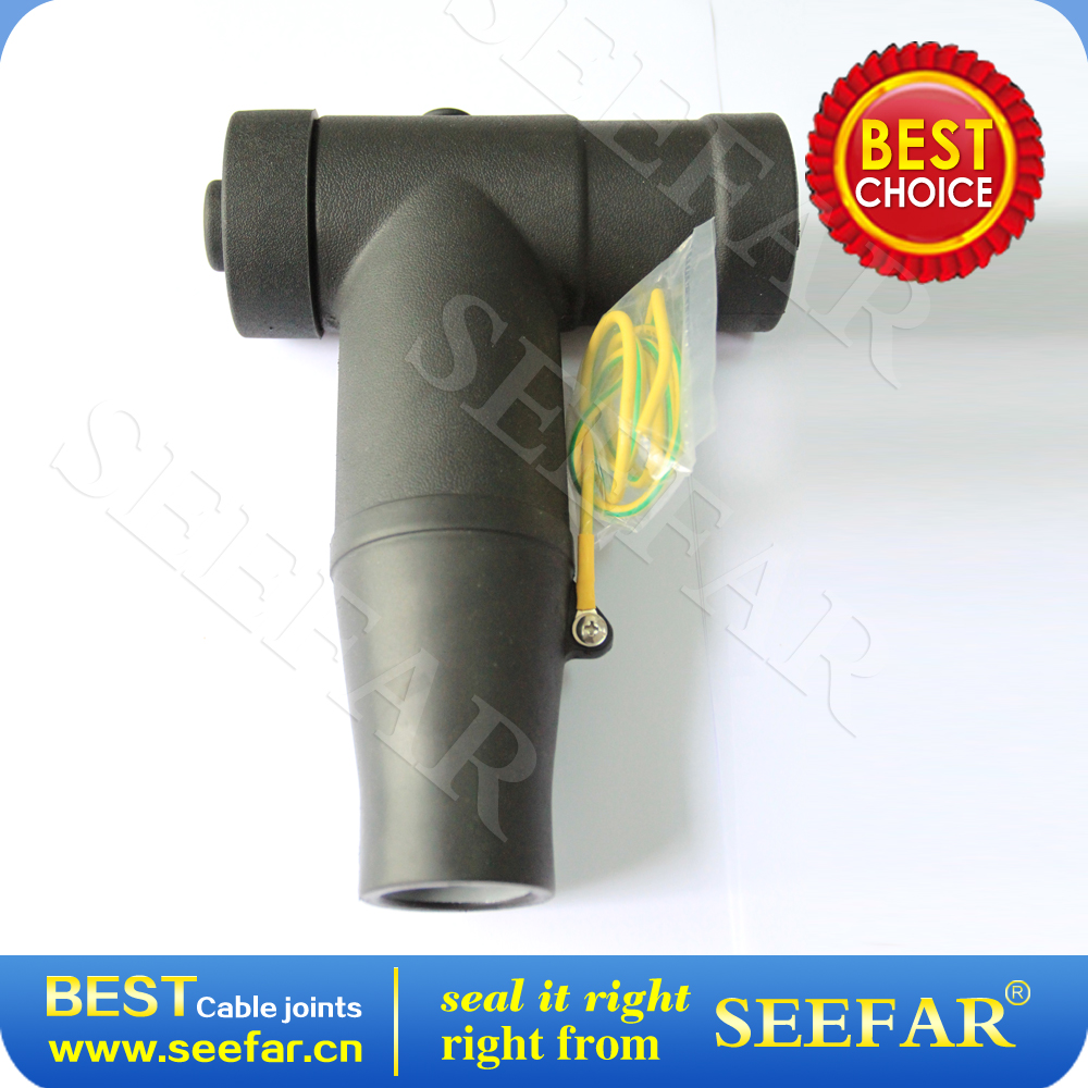 Factory wholesale T type elbow cable connectors