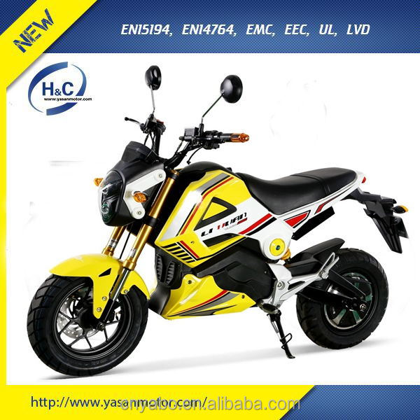 Best EEC electric sportbike 3000W motorcycle for adults