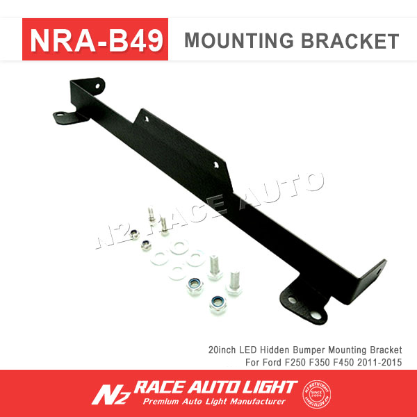2011-2015 offroad light bar 20'' Bumper hidden mounting bracket for F250