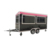 New Design Fashionable cream caramel Coffee  Kiosk To sell ice cream european food carts food trailer piaggio ape food truck