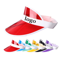 New Design Transparent Pvc sun Visor Cap