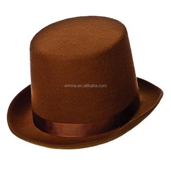 Adulti Brown Top Cappello Stile Vittoriano Fancy Dress Up Halloween Party  Accessorio HT3000 cd421704e25c