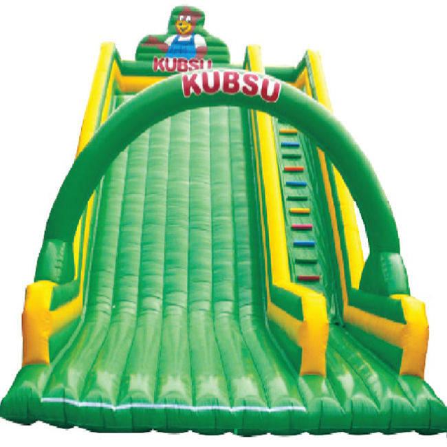 High quality  colorful jumping giant inflatable slide for sale