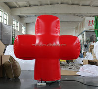 2015 red inflatable cross