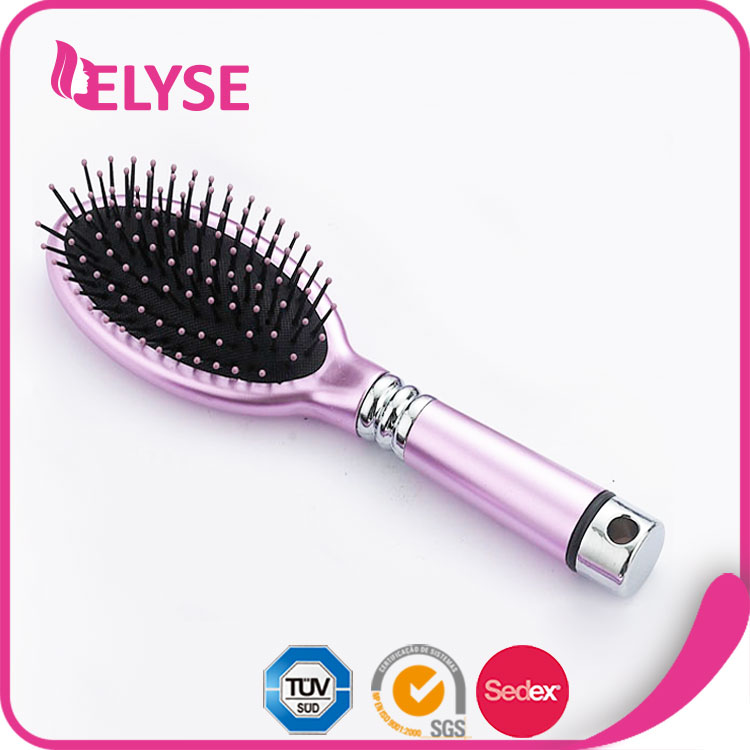 Promotional colorful personalized hair brush
