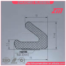 v shape pu foam weather strip door gasket