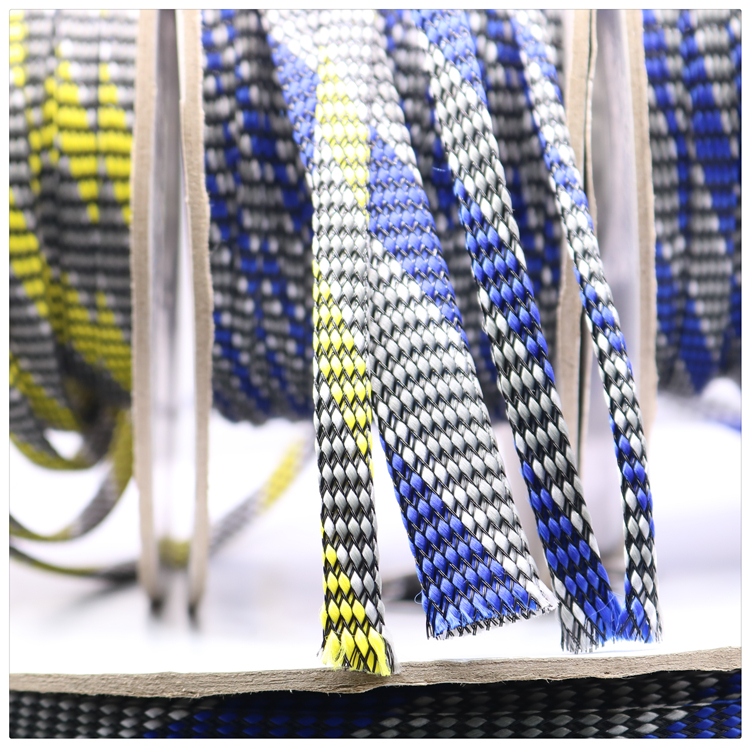 10m  3 ~ 20mm XSSH Audio HIFI Shield Suspension Screen Woven Rayon Nylon Cotton Snakeskin Mesh Knit Braided Cable Sleeve Tube