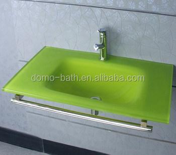 Lavabo Verde Pistacho.Domo Verde Lavabo De Cristal Con Plataforma De Acero Inoxidable Buy Lavabo De Vidrio Con Estante De Acero Inoxidable Lavabo De Pie De Acero