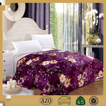 0bbbe209de New Korean Design Mora 2ply Super Soft Thick Flower Thermal China Mink  Blanket