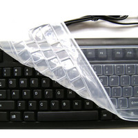 Wholesale Custom Silicone Computer Desktop Keyboard Cover Skin Protector