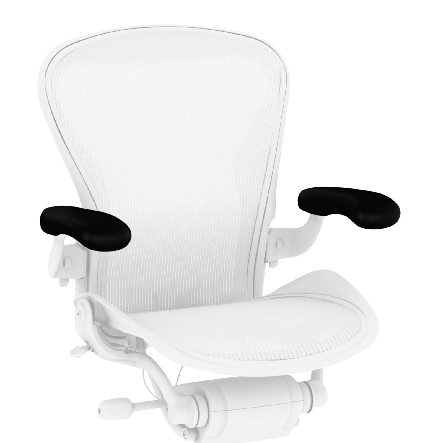 Herman Miller Vinyl Armpads for Classic Aeron Chair (2 Pack)