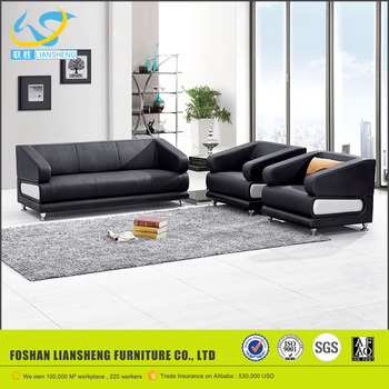 LS  Zism High Quality Executive Office Furniture Stainless Pipe Sofa