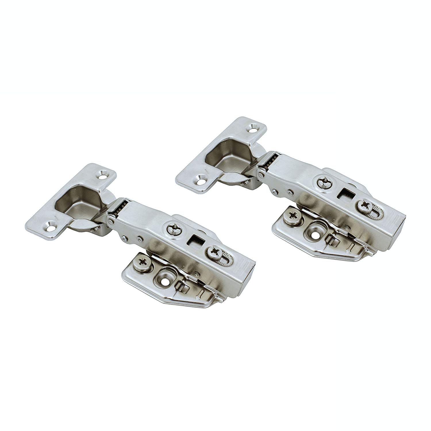 41.82230mm 1pcs Invisible Concealed Cross Door Hinge Zinc Alloy Hidden Hinges for Folding Door Furniture Hardware Color: SV