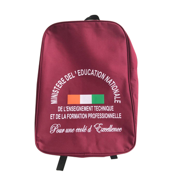 government bid basic back to school student bag kit SAC D'ECOLIER Cote d'Ivoire