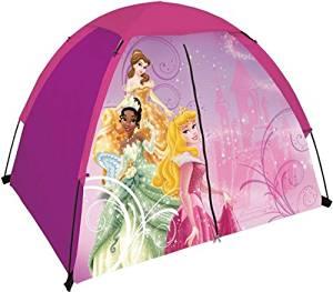 "Disney Youth Princess 2 Pole Dome Tent with Zip ""T"" Doors, No Floor - 4-Feet x 3-Feet x 36-Inch"