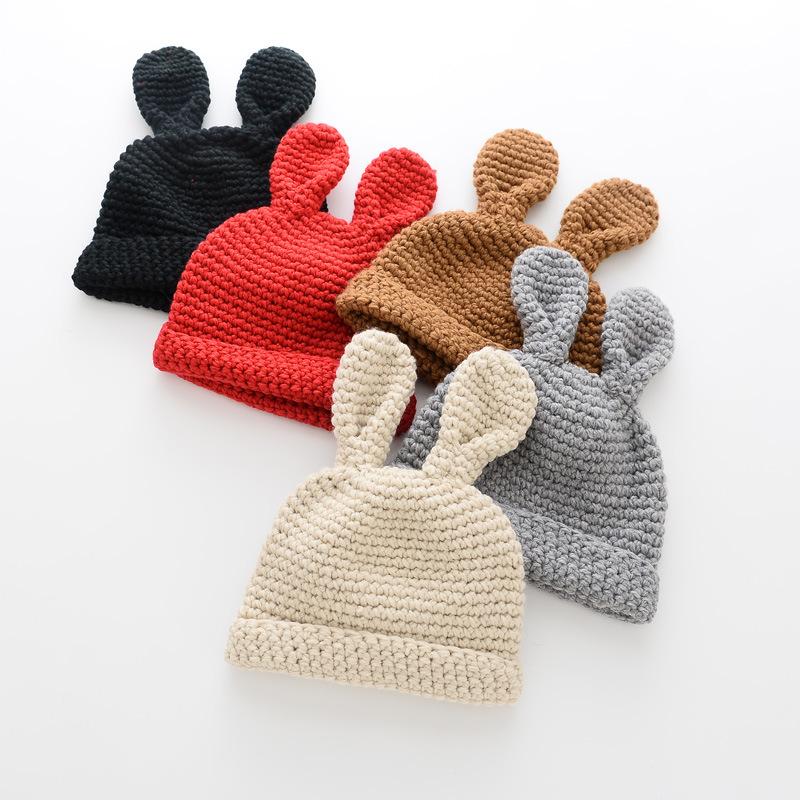 Venta al por mayor sombreros de lana de punto niñas-Compre online ...