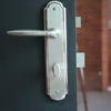 High quality hotel used door lever handle and lock with wholesale price