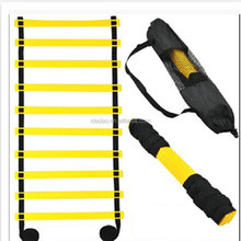 2017 Wholesale Flat Durable Football agility ladders Adjustable Training ladder Sports Equipment Agility Ladder