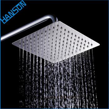 European Italian Smart Low Ceiling Waterfall 24 Inch Rain Shower Head