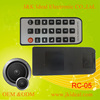 RC-02 Car android tv box remote control for mp3 player amplifier speaker