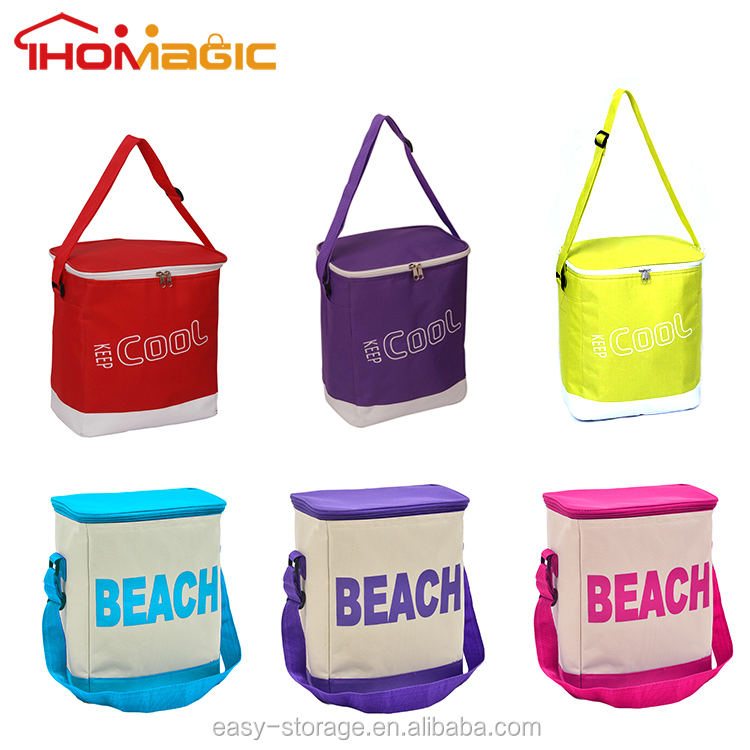 Fashion Refrigerated Shoulder Lunch Insulated Picnic Cooler Bag for Frozen Food