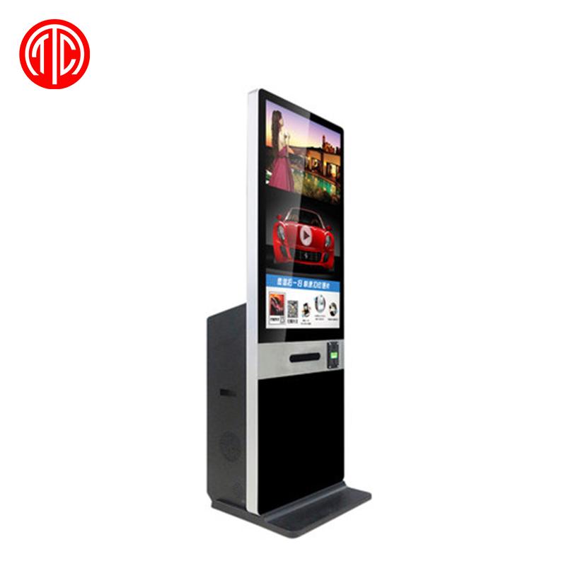 43 inç FHD dokunmatik ekran fotoğraf kabini dijital tabela kamera ve yazıcı ile net görüntü LCD dijital tabela düğün parti için