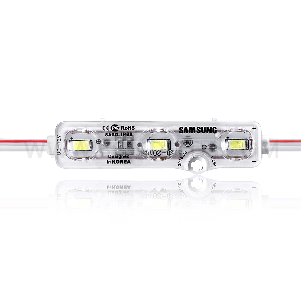 12v 0.5w 5mm led piranha LED modules ce rohs approval Superflux Waterproof IP66 LED Module for Illuminated